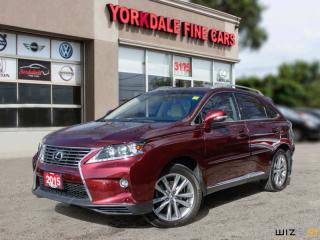 Used 2015 Lexus RX 350 Premium Pkg, Navigation, Camera, Blind Spot Assist, Original for sale in Toronto, ON