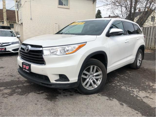 2014 Toyota Highlander LE AWD Nice Trade In!!!