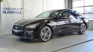 Used 2015 Infiniti Q50 S ** Hybride ** AWD ** for sale in Blainville, QC