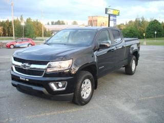 Used 2017 Chevrolet Colorado Crew Cab, Lwb, Wt for sale in Thetford Mines, QC