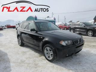 Used 2006 BMW X3 3.0I for sale in Beauport, QC