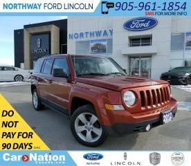 Used 2012 Jeep Patriot North | KEYLESS ENTRY | HTD SEATS | REMOTE START | for sale in Brantford, ON
