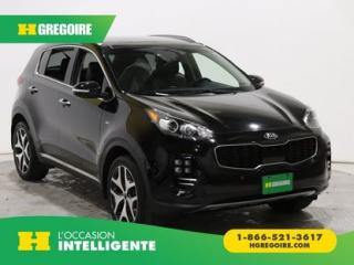Used 2017 Kia Sportage SX TURBO AWD GR for sale in St-Léonard, QC