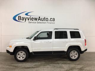 Used 2015 Jeep Patriot Sport/North - 4X4! A/C! CRUISE! FULL PWR GROUP! for sale in Belleville, ON
