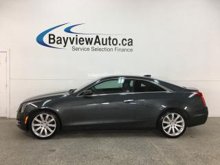 Used 2015 Cadillac ATS 2.0L Turbo - LEASE RETURN! RWD! REMOTE START! BOSE SOUND! PADDLE SHIFTERS + MORE! for sale in Belleville, ON