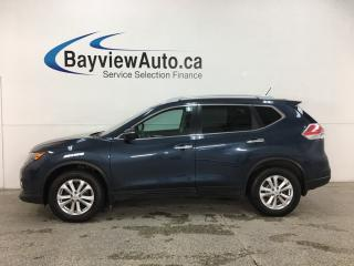 Used 2015 Nissan Rogue SV - PANOROOF! HTD SEATS! ALLOYS! LEASE RETURN! for sale in Belleville, ON