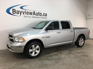 Used 2018 RAM 1500 SLT - 4X4! HEMI! 8 SPD AUTO! CREW CAB! U-CONNECT! ALLOYS! for sale in Belleville, ON