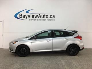 Used 2015 Ford Focus SE - AUTO! BLACK WHEELS! PWR GROUP + MORE! for sale in Belleville, ON