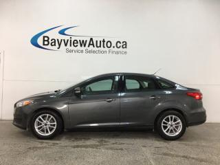 Used 2017 Ford Focus - SYNC! REVERSE CAM! HTD SEATS! ALLOYS + MORE! for sale in Belleville, ON