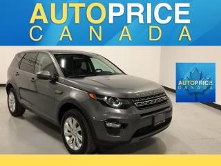 Used 2016 Land Rover Discovery Sport SE NAVIGATION|REAR CAM|LEATHER for sale in Mississauga, ON