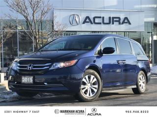Used 2015 Honda Odyssey EX Power Slide Doors, LaneWatch Cam, 8-Seater for sale in Markham, ON