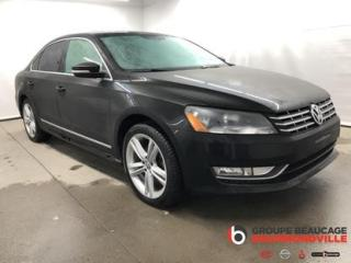 Used 2014 Volkswagen Passat COMFORTLINE for sale in Drummondville, QC
