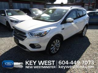 Used 2017 Ford Escape Titanium *No Accidents* Touring Pkg Sunroof Leather for sale in New Westminster, BC