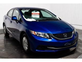 Used 2013 Honda Civic Lx A/c Bluetooth for sale in L'ile-perrot, QC