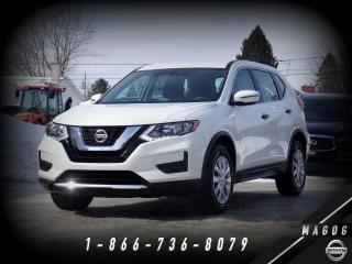 Used 2018 Nissan Rogue S AWD + CAMÉRA + SIÈGES CHAUFF. + ANGLES for sale in Magog, QC