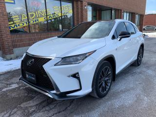 Used 2016 Lexus RX 350 F-Sport Series 3! for sale in Woodbridge, ON