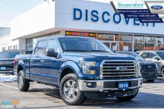 Used 2016 Ford F-150 XLT/ ONE OWNER, CLEAN CARFAX, LONG BOX for sale in Burlington, ON