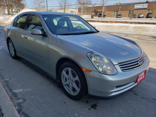 Used 2004 Infiniti G35 Sedan for sale in Scarborough, ON