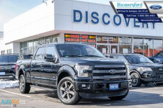 Used 2016 Ford F-150 Lariat Crew for sale in Burlington, ON