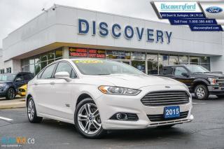 Used 2015 Ford Fusion Energi Titanium for sale in Burlington, ON