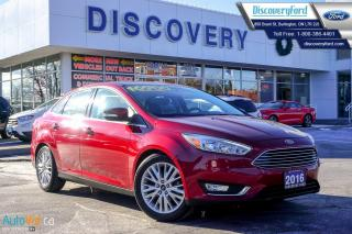 Used 2016 Ford Focus Titanium for sale in Burlington, ON