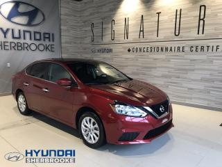 Used 2016 Nissan Sentra SV+CAM RECUL+DEMARREUR+TOIT+BANCS CHAUFF for sale in Sherbrooke, QC