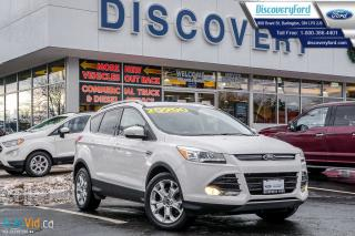 Used 2016 Ford Escape Titanium 4WD/1.9% FINANCING, NAVIGATION for sale in Burlington, ON