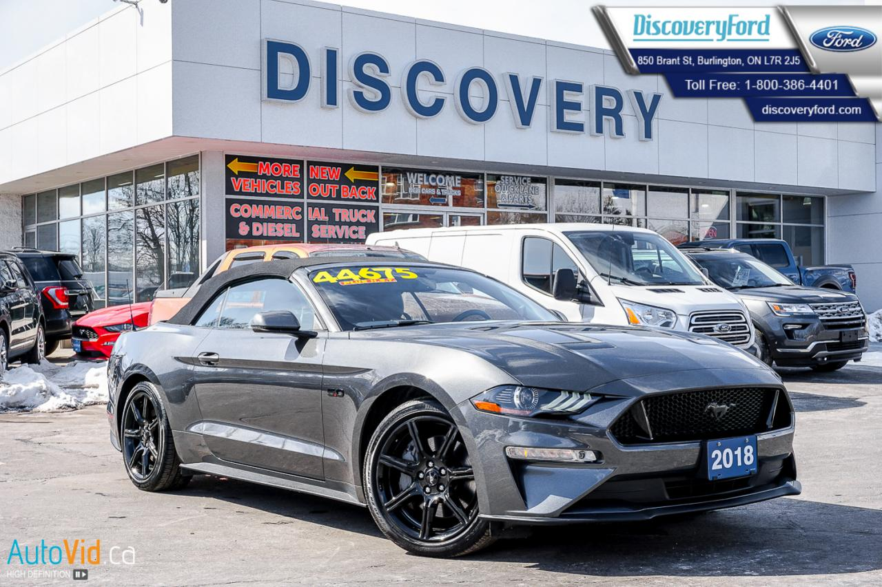 Used 2018 ford mustang gt premium convertible for sale in burlington