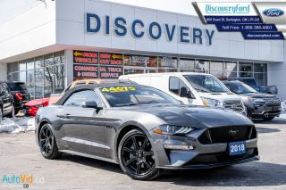 Used 2018 Ford Mustang GT Premium for sale in Burlington, ON