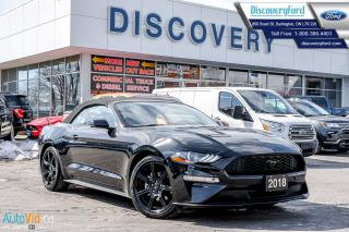 Used 2018 Ford Mustang ECO PREMIUM for sale in Burlington, ON