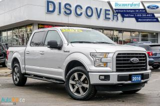 Used 2016 Ford F-150 XLT Sport Package for sale in Burlington, ON