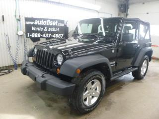 Used 2013 Jeep Wrangler SPORT for sale in St-Raymond, QC