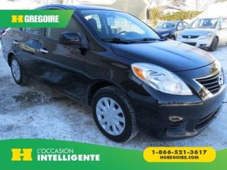 Used 2012 Nissan Versa SV AUT A/C BLUETOOTH for sale in St-Léonard, QC