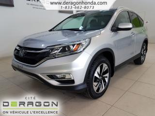 Used 2016 Honda CR-V Touring+t.ouvrant+aw for sale in Cowansville, QC