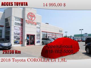 Used 2018 Toyota Corolla for sale in Rouyn-Noranda, QC