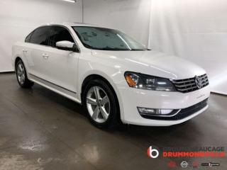 Used 2013 Volkswagen Passat COMFORTLINE for sale in Drummondville, QC
