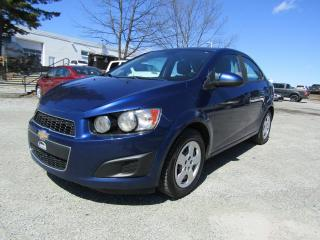 Used 2013 Chevrolet Sonic Berline 4 portes LS à b. man. for sale in Thetford Mines, QC