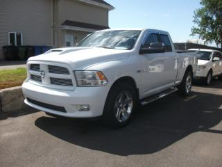 Used 2011 RAM 1500 Cabine quad 4RM, 140,5 po ST for sale in St-Sulpice, QC