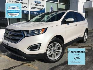 Used 2018 Ford Edge Sel Awd Cert. for sale in St-Georges, QC