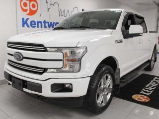 Used 2019 Ford F-150 Lariat Sport 4x4 ecoboost, NAV, heated/cooled power leather seats, back up cam for sale in Edmonton, AB