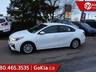 New 2019 Kia Forte LX MT; BLUETOOTH, BACKUP CAM, HEATED SEATS, LANE DEPARTURE WARNING AND MORE for sale in Edmonton, AB