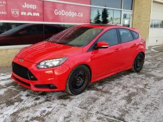Used 2014 Ford Focus ST, 2.0L TURBO 252HP, RECARO RACING SEATS, SUNROOF, COMES WITH 2 SETS OF RIMS AND TIRES! for sale in Edmonton, AB