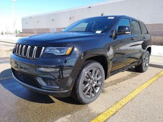 New 2019 Jeep Grand Cherokee Overland for sale in Edmonton, AB