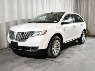 Used 2012 Lincoln MKX 4dr AWD | SIGHT & SOUND PACKAGE | NAVIGATION | PANORAMIC VISTA ROOF | BLIND SPOT MONITORING SYSTEM for sale in Red Deer, AB