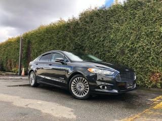 Used 2013 Ford Fusion HYBRID TITANIUM + NAV + LEATHER HEATED/POWER FT SEATS + FT/RR PARK ASSIST + SUNROOF + BACK-UP CAMERA for sale in Surrey, BC