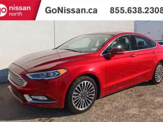 Used 2017 Ford Fusion SE AWD NAVIGATION LEATHER SUNROOF for sale in Edmonton, AB