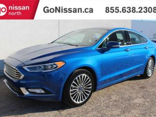 Used 2017 Ford Fusion TITANIUM AWD NAVIGATION SUNROOF LEATHER for sale in Edmonton, AB
