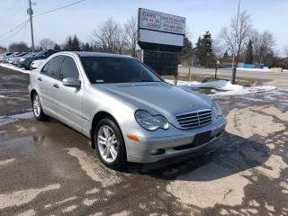 Used 2003 Mercedes-Benz C-Class 4matic for sale in Komoka, ON