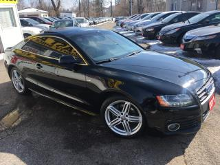 Used 2011 Audi A5 PREMIUM/ QUATTRO/ POWER GROUP/ SUNROOF/ ALLOYS! for sale in Scarborough, ON