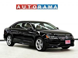 Used 2014 Volkswagen Passat COMFORTLINE LEATHER SUNROOF NAVI BACK UP CAM for sale in Toronto, ON